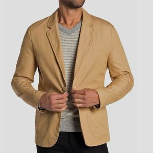 Grayers Dylan Khaki Tan Front Two Button Blazer M